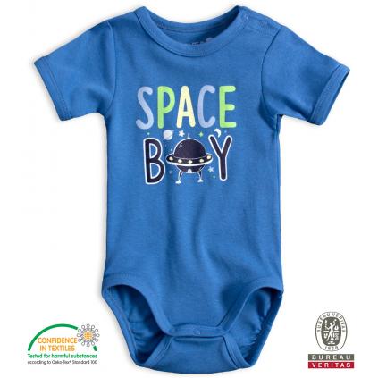 Dojčenské body VENERE SPACE BOY modré