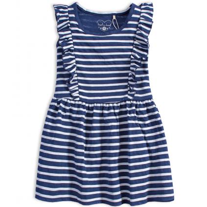 Dievčenské letné šaty KNOT SO BAD BLUE SUMMER modré