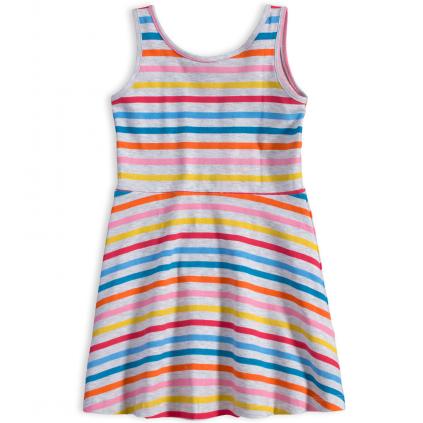 Dievčenské šaty KNOT SO BAD COLOUR STRIPE