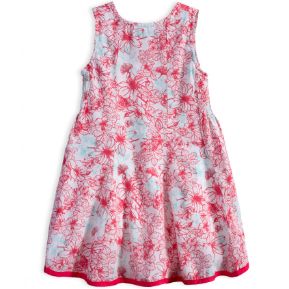 Dievčenské šaty KNOT SO BAD CORAL biele