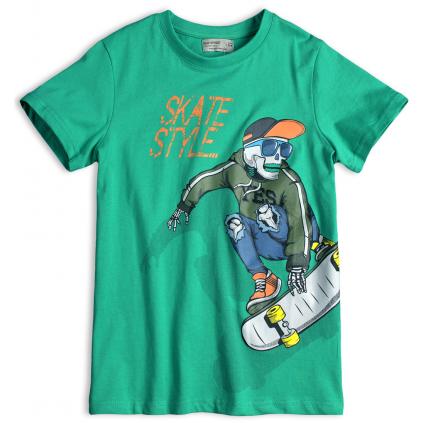 Chlapčenské tričko GLO-STORY SKATE zelené
