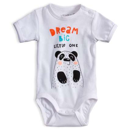 Dojčenské body VENERE DREAM biele