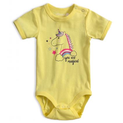 Dojčenské body VENERE JEDNOROŽEC žlté