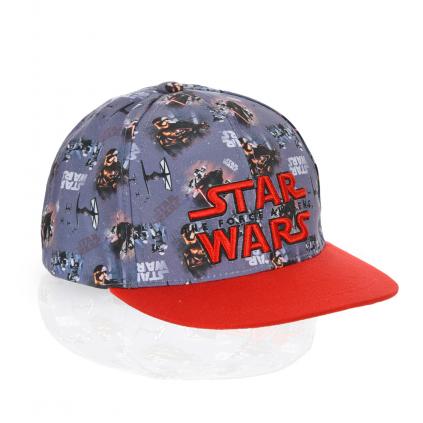 Chlapčenská šiltovka STAR WARS červený šilt