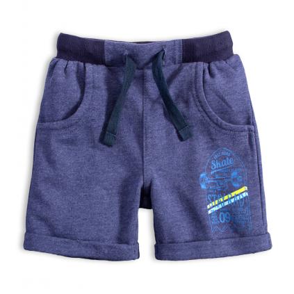 Chlapčenské šortky VENERE SKATE modrý melír