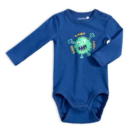 Dojčenské body VENERE TROUBLE MAKER modré