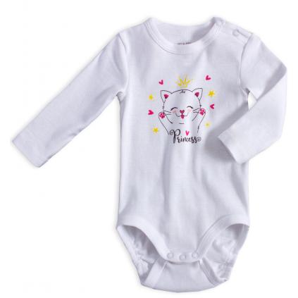 Dojčenské body VENERE MAČIČKA biele