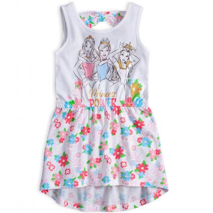 Dievčenské šaty DISNEY PRINCESS biele