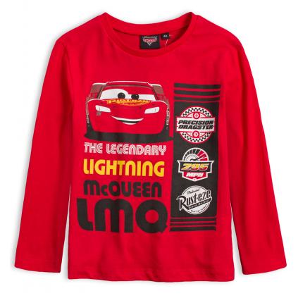Chlapčenské tričko DISNEY CARS LEGENDARY červené