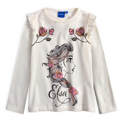 Dievčenské tričko DISNEY FROZEN ELSA biele
