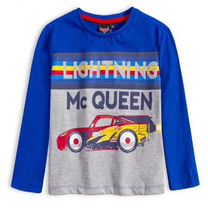 Chlapčenské tričko DISNEY CARS BLESK McQUEEN modré