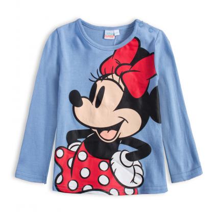 Dievčenské tričko DISNEY MINNIE HAPPY modré