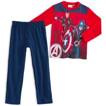 Chlapčenské pyžamo AVENGERS červené