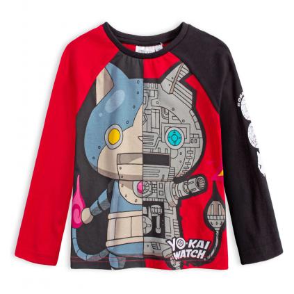 Chlapčenské tričko YOKAI WATCH ROBONYAN červené