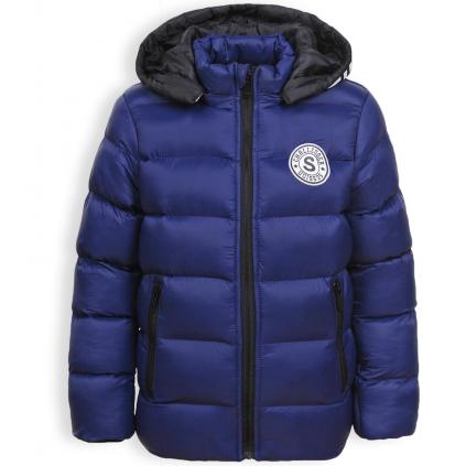 Chlapčenská zimná bunda GLO STORY CHALLANGER modrá