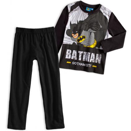 Chlapčenské pyžamo BATMAN GOTHAM CITY čierne