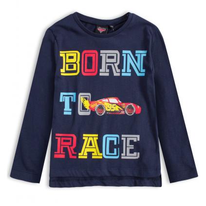 Chlapčenské tričko DISNEY CARS BORN TO RACE modré
