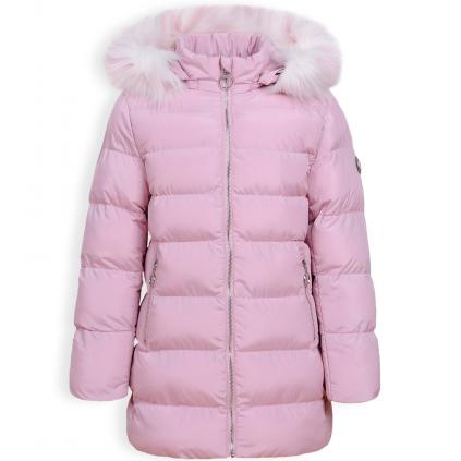Dievčenský zimný kabát GLO STORY RING ružový