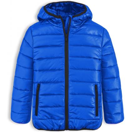 Chlapčenská prešívaná bunda LOSAN BOY STYLE modrá medium