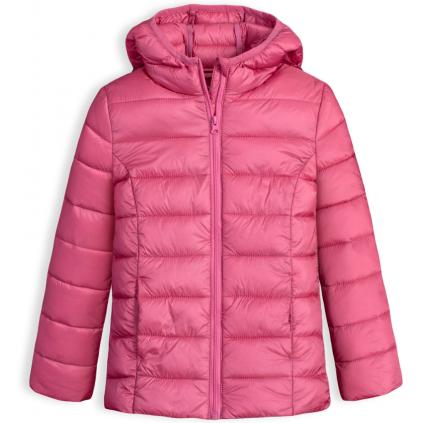 Dievčenská prešívaná bunda LOSAN SCHOOL staroružová