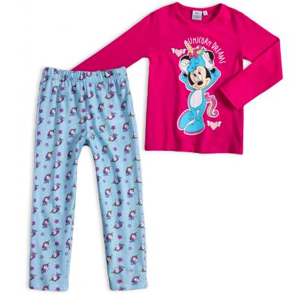 Dievčenské pyžamo DISNEY MINNIE UNICORN DREAMS ružové