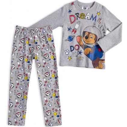 Chlapčenské pyžamo PAW PATROL DREAM šedé