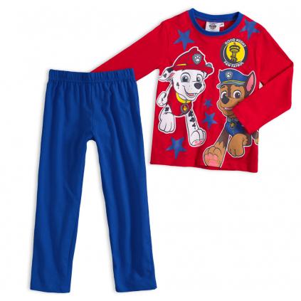 Chlapčenské pyžamo PAW PATROL GOOD NIGHT červené