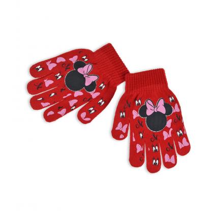 Dievčenské rukavice DISNEY MINNIE EYES červené