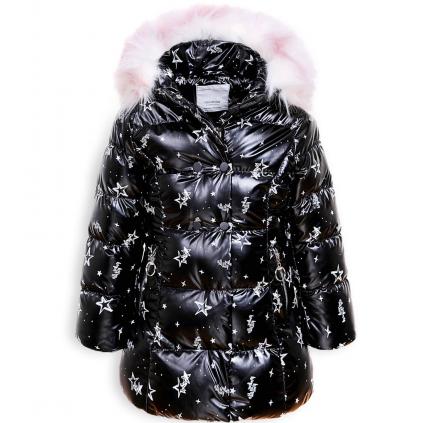 Dievčenský kabát GLO STORY PALLETTE čierny