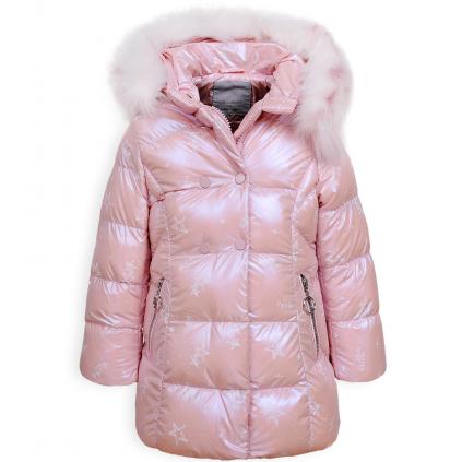 Dievčenský kabát GLO STORY PALLETTE svetloružový
