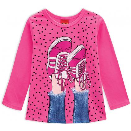 Dievčenské tričko KYLY TENISKY ružové