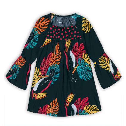 Dievčenské šaty NANAI TUKAN čierne