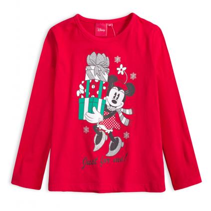 Dievčenské tričko DISNEY MINNIE DARČEKY červené