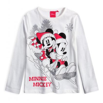 Dievčenské tričko DISNEY MINNIE SÁNKY biele
