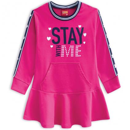 Dievčenské šaty KYLY STAY WITH ME ružové