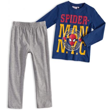 Chlapčenské pyžamo MARVEL SPIDERMAN NEW YORK modré
