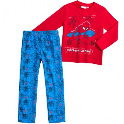 Chlapčenské pyžamo MARVEL SPIDERMAN COSTUME červené