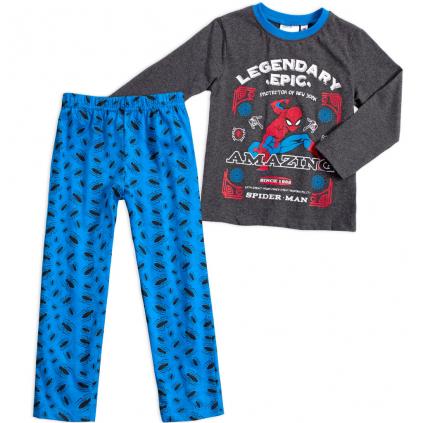 Chlapčenské pyžamo MARVEL SPIDERMAN EPIC šedomodré