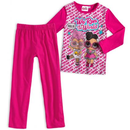 Dievčenské pyžamo L.O.L SURPRISE RUN THE WORLD ružové