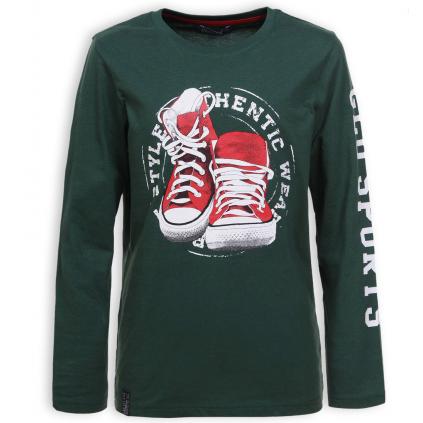 Chlapčenské tričko GLO STORY AUTHENTIC STYLE zelené