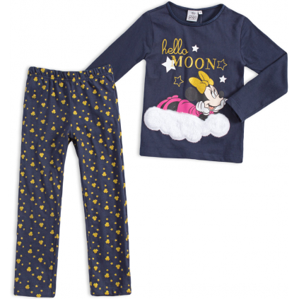 Dievčenské pyžamo DISNEY MINNIE MOON modré