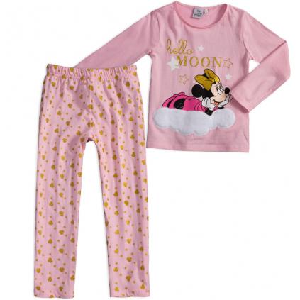 Dievčenské pyžamo DISNEY MINNIE MOON ružové