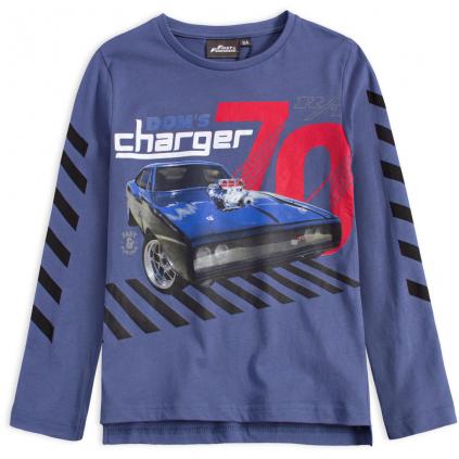 Chlapčenské tričko FAST&FURIOUS CHARGER modré