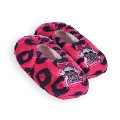 Dievčenské papučky L.O.L.SURPRISE ružovočierne