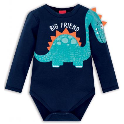 Dojčenské body KYLY BIG FRIEND modré