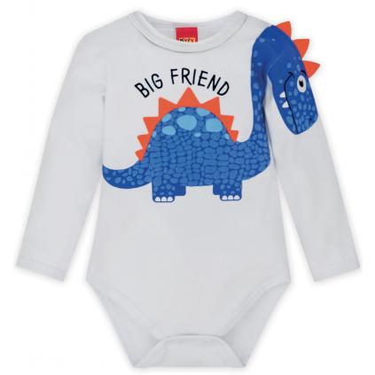 Dojčenské body KYLY BIG FRIEND biele