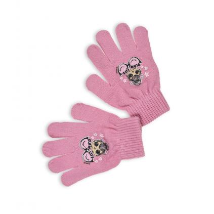 Dievčenské rukavice L.O.L SURPRISE GLAM LIFE ružové