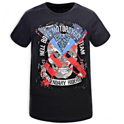Chlapčenské tričko GLO STORY BOYS TEAM čierne