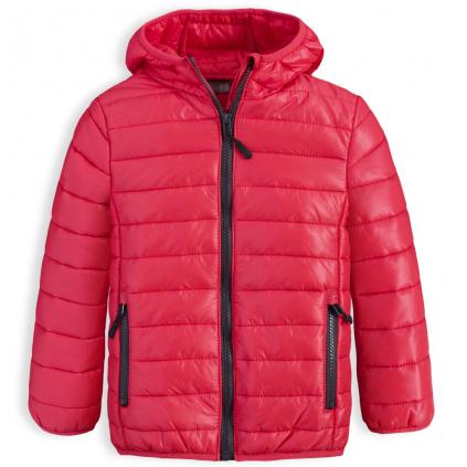 Chlapčenská prešívaná bunda LOSAN BOY STYLE červená