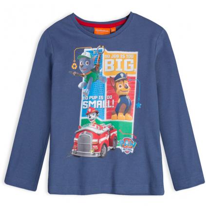 Chlapčenské tričko PAW PATROL JOB modré